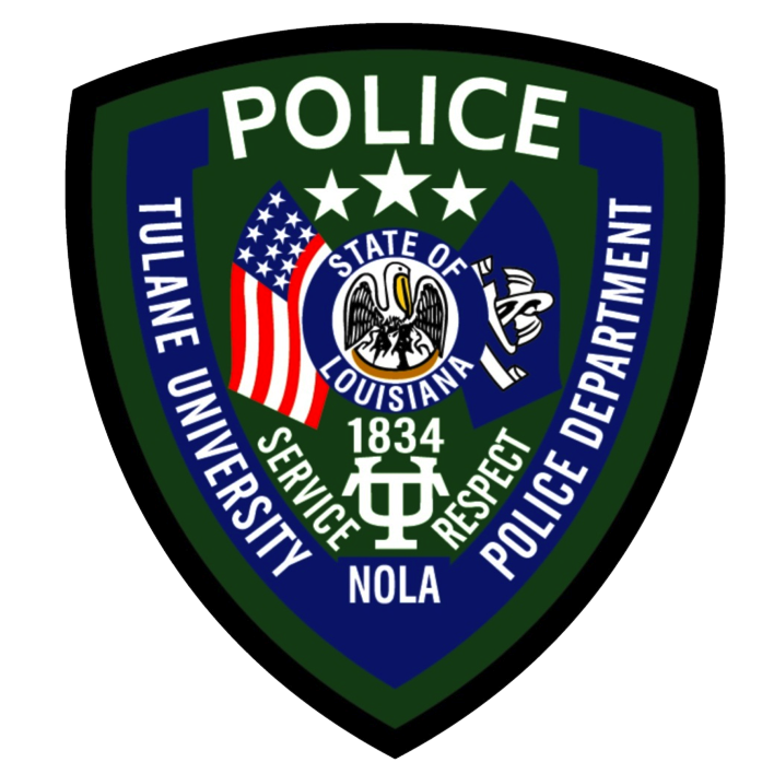 Tulane University Police Department patch