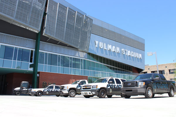 Tulane University Police Vehicles