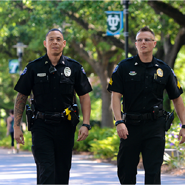 Tulane Police Department administration